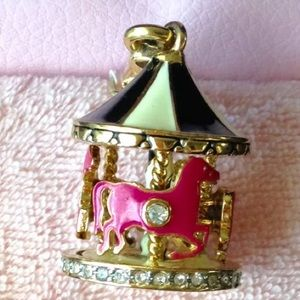 Juicy Couture Carousel horses Merry go round Charm